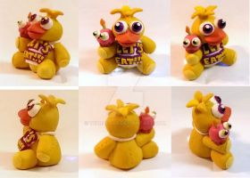 Chica the Chicken plushy multiview by TerraLove