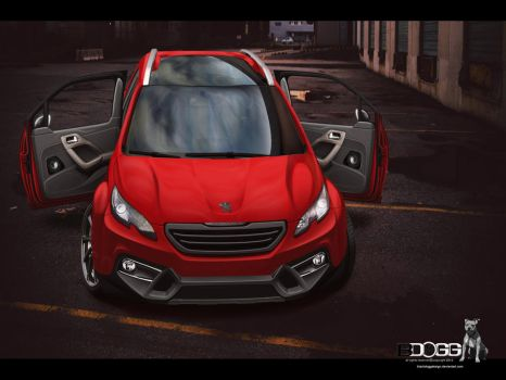 Peugeot 2008 by blackdoggdesign