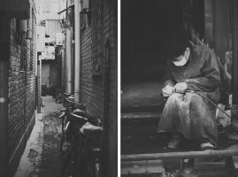 Working in the Hutong by ornie