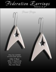 ST Federation Earrings by inception8-Resource