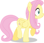 Fluttershy - In Shock - Quite Surprised by TomFraggle