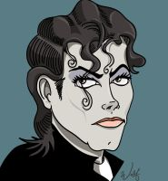 Michael Jackson colored by PaladinLord