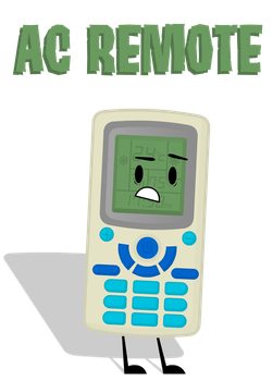 ADOPTABLE #1: AC Remote [TAKEN by TTNOfficial] by AzoicAssaultAids
