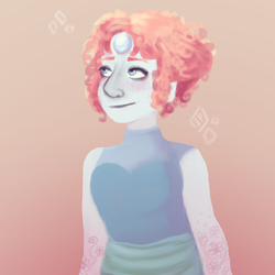 Curly Haired Pearl by emilybunnysoft