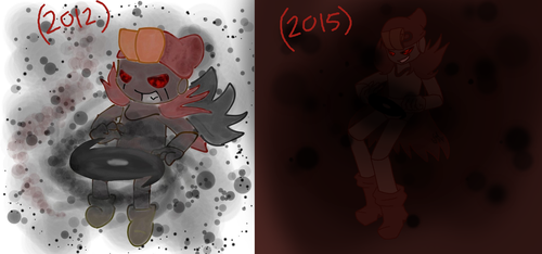 Old gallery redraw 2- Evil Geno (paint) by Gameaddict1234