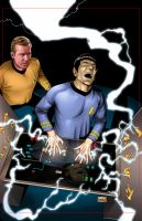 Star Trek: TEE 5 Cover Art by sharpbrothers