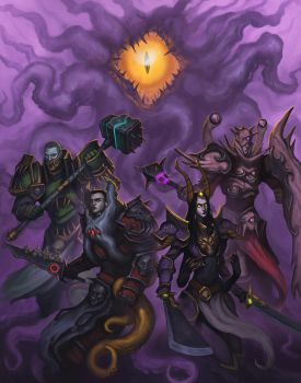 Knights of the Old Gods by MyDeads