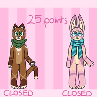 25 POINTS - Adoptables (CLOSED) by Julynnx