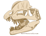 [F2U] Dilo Skull - Untextured by NocturnalCarnage