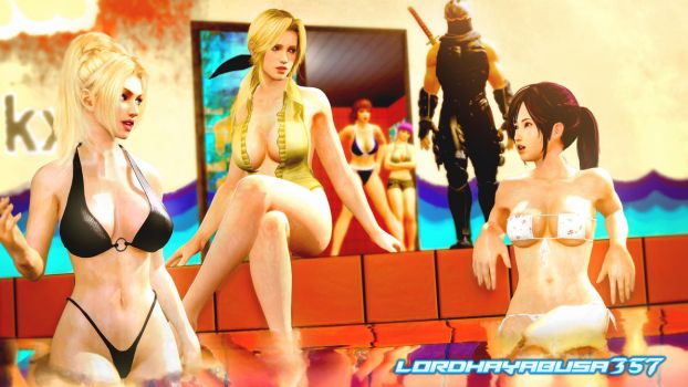 DOA Pool Party (Revisioned) by LordHayabusa357