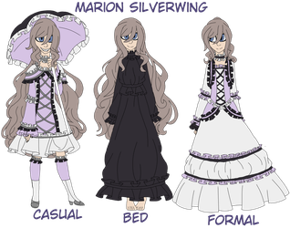 Marion Silverwing (Black Butler oc) (redesign) by TribalaKihara