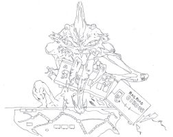 ticket to ride game drawing (inked 150dpi) by electronicdave