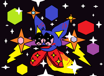 My new kirby oc by SonicLover1523