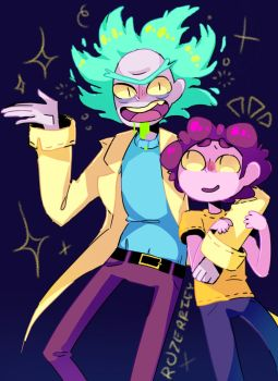Rick and Morty (REDESIGN) by Rozerriey