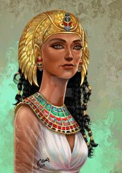 Egyptian queen by bobba88