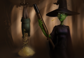 wicked witch of the midwest by etchant