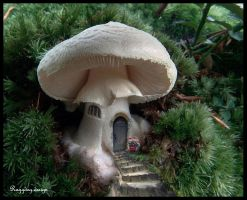 a house for the little people by RaggDog