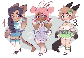 Kemonomimi Qts ~OPEN 2/3~ [reduced price] by TinselTyger