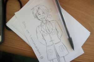 APH Italy doodle. by hetalialuver3299