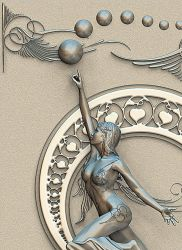 Art Nouveau 1 Detail version by Riccus