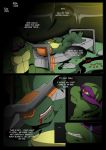 TMNT (fanmade) Same as it never was Aftershock _2 by FleshCreature