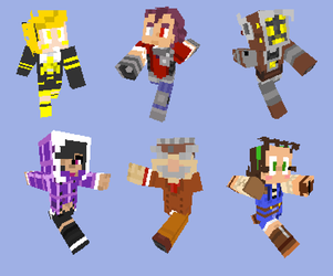MC Character Skins by The-Knick