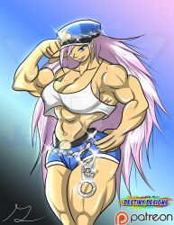 Poison from Final Fight! by JediSonic-X