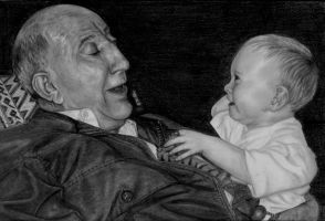 grampy + Kieran finished baby by Dragonsanddaffodils