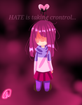 Hate is taking control... by Rarinette