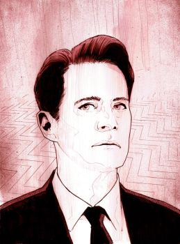 Dale Cooper / Twin Peaks by jasonbaroody
