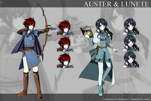 [CM] Auster and Lunete by Ateliae