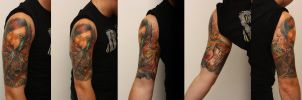 my tattoo by KaYgeR