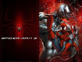 Spider man 3 by particle9