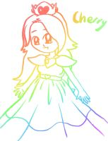 Rainbow Art: Princess Cherry by lillilotus