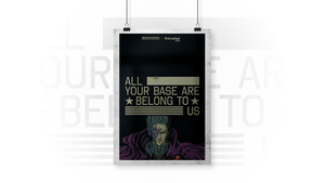 ALL YOUR BASE ARE BELONG TO US by KevinWScherrer
