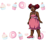 Cupcake Cybele Badge by ErinPtah