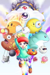 Adeleine and the Power Paintbrush by AlcyoneAX