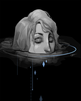 XXIX - drowning by Rose333