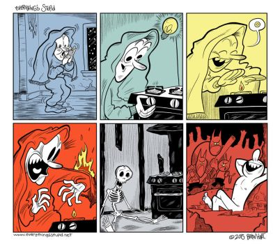 Cold as Hell by brien-likes-cartoons