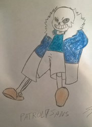 Patrol!Sans by OmegaArts13