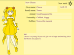 TMM: Cheese Tomoe/Mew Cheese by DreamNotePrincess