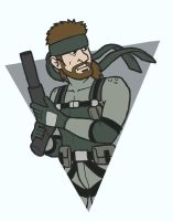 Solid Snake by fryguy64