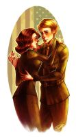 Steve and  Peggy by Psyche-Evan