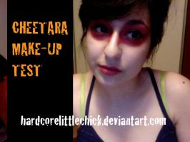 Cheetara Make-Up Test- Thundercats by HardcoreLittleChick