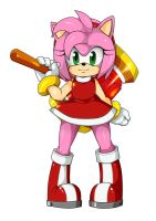 Amy Rose by Eins-to-Erin