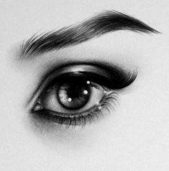 Audrey Eye Detail by IleanaHunter