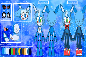 Reference  Toy Bonnie The Animatronic Rabbit by shasted