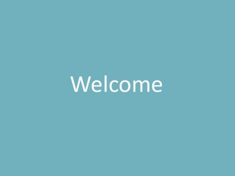 Welcome Wallpaper Smooth by huamm