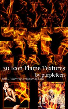Flame Textures by purplefeen