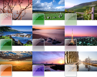91 Beautiful Themes For Win 7 by x0xHadesx0x